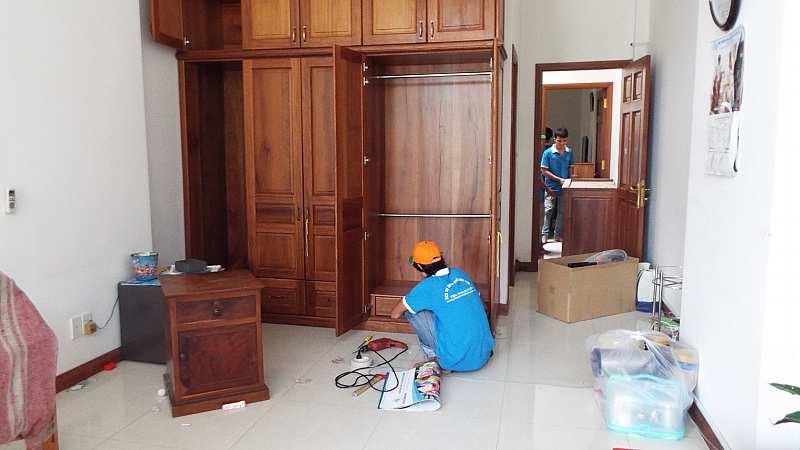 Tháo lắp đồ gỗ tại nhà Hà Nội