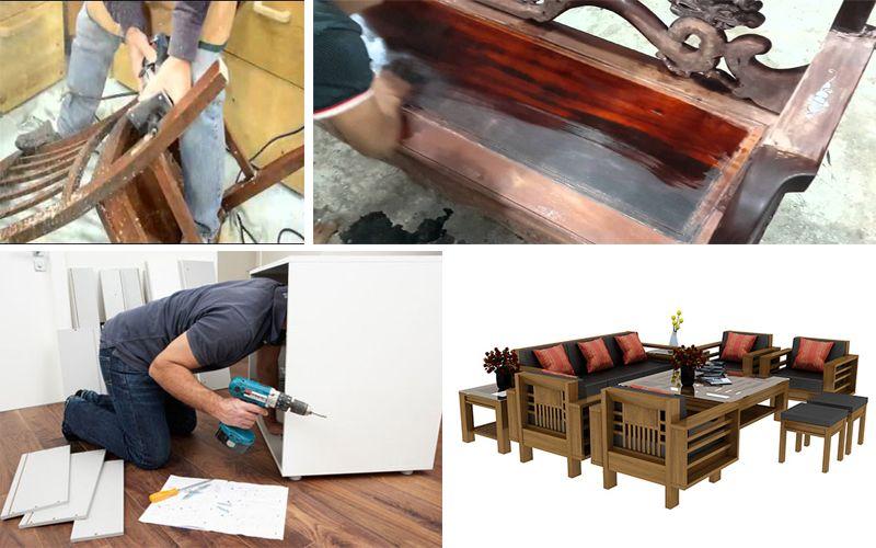 Dịch vụ sửa chữa bàn ghế tại nhà