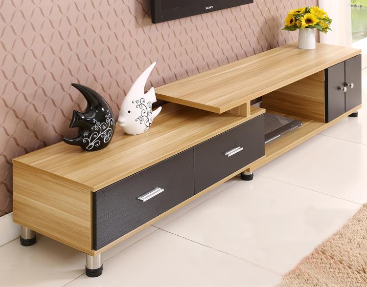 Kệ gỗ tivi kết hợp với sofa