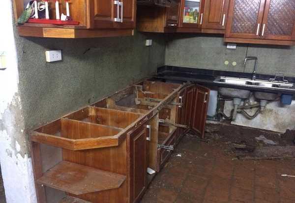 Mẹo chống mối mọt cho tủ bếp gỗ đơn giản