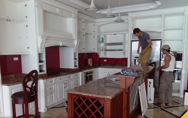 Sửa chữa tủ bếp tại quận Hà Đông